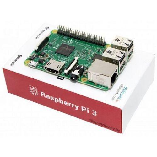 Raspberry Pi 3 Model B (UK version)